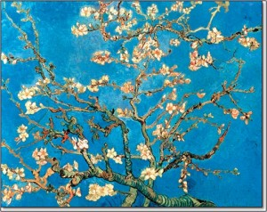 MS van gogh blossoms
